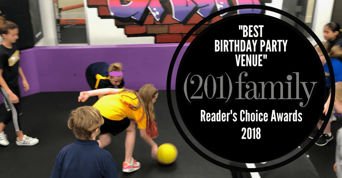 "201 Family Magazine Voted<br/> ""Best Birthday Party"" </br> 2018 Reader's Choice"