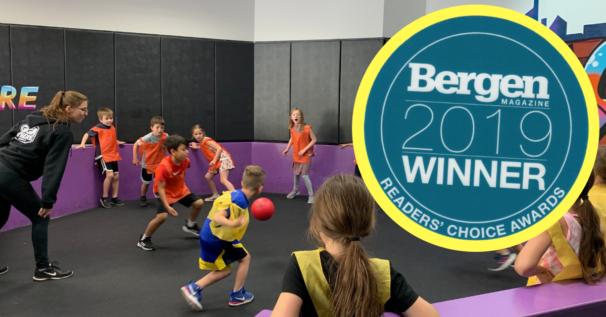 "Bergen Magazine Readers' Poll<br/> ""Best Birthday Party"" 3rd Time In A Row! </br> 2019 Reader's Choice"