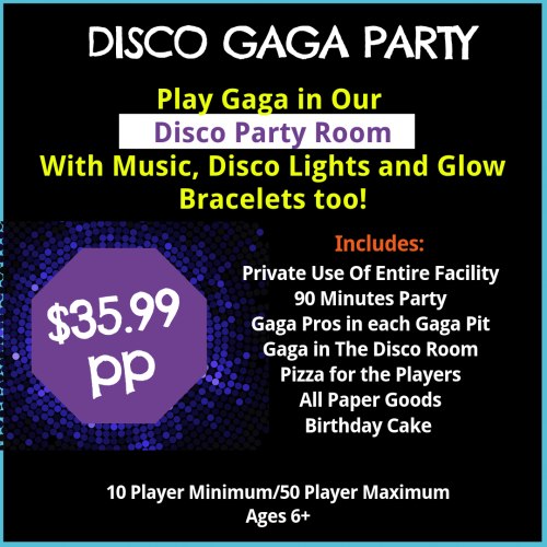 Disco gaga birthday Party