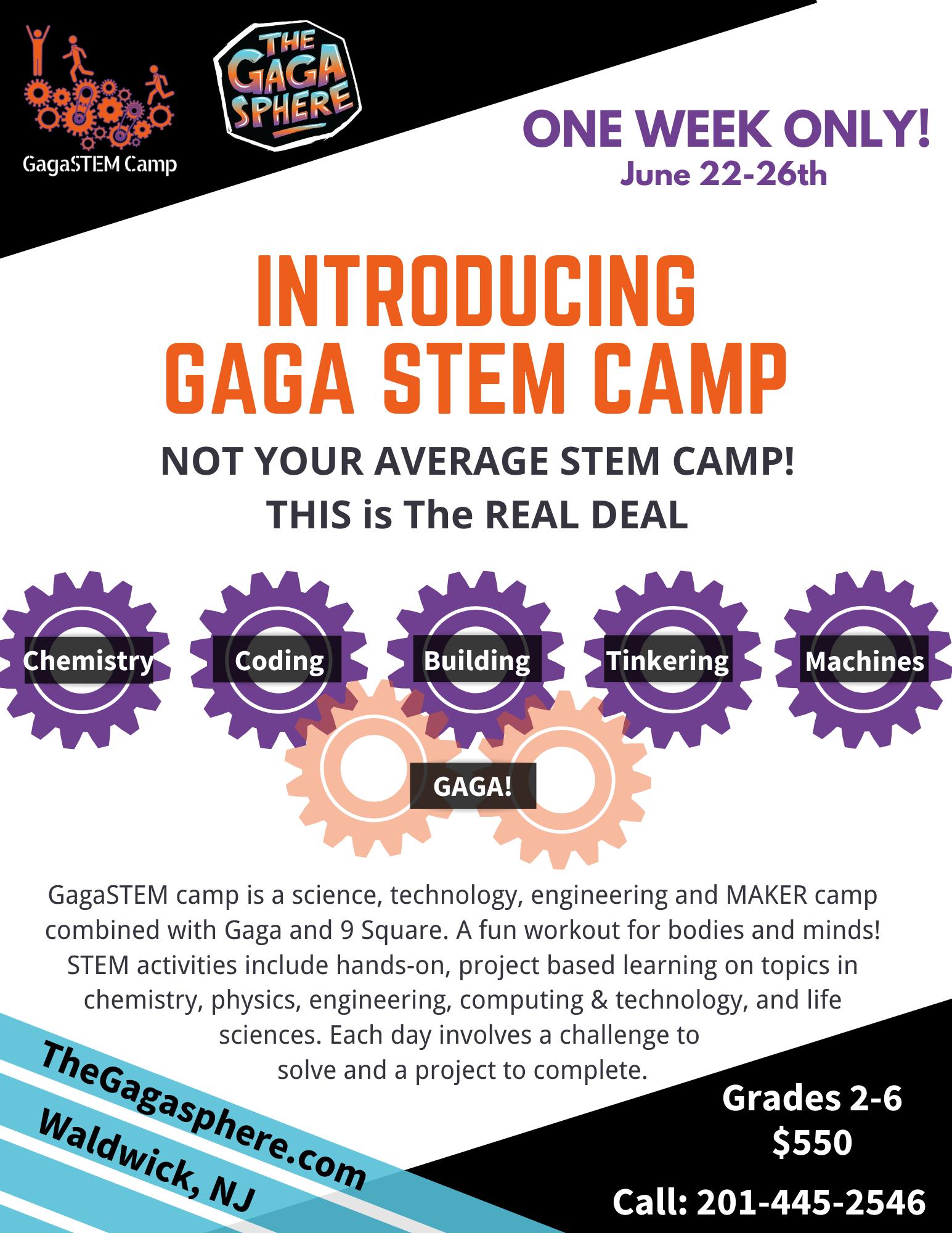 GagaSTEM camp